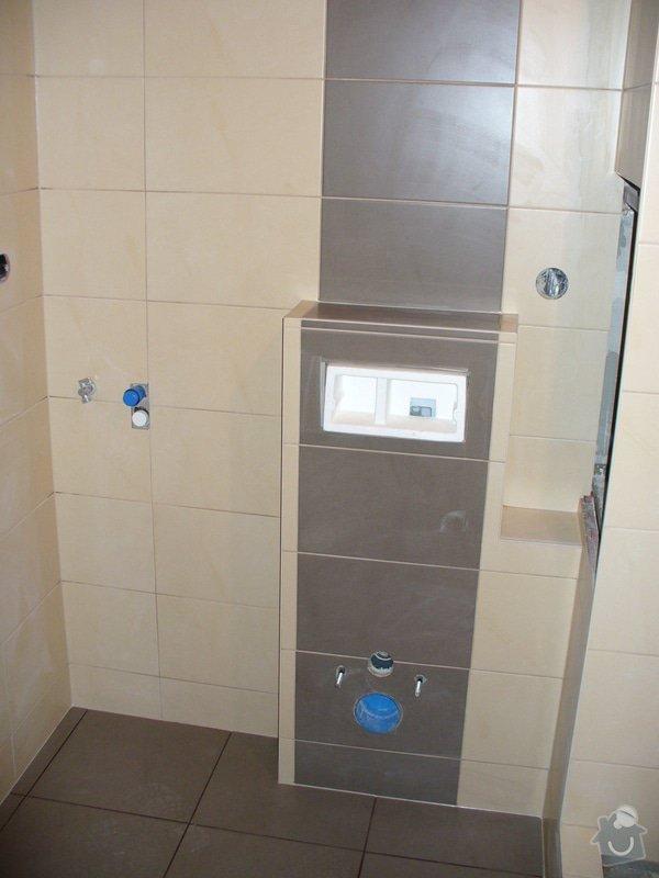 Obložení koupelny - garsonka: Jirava_koup_2