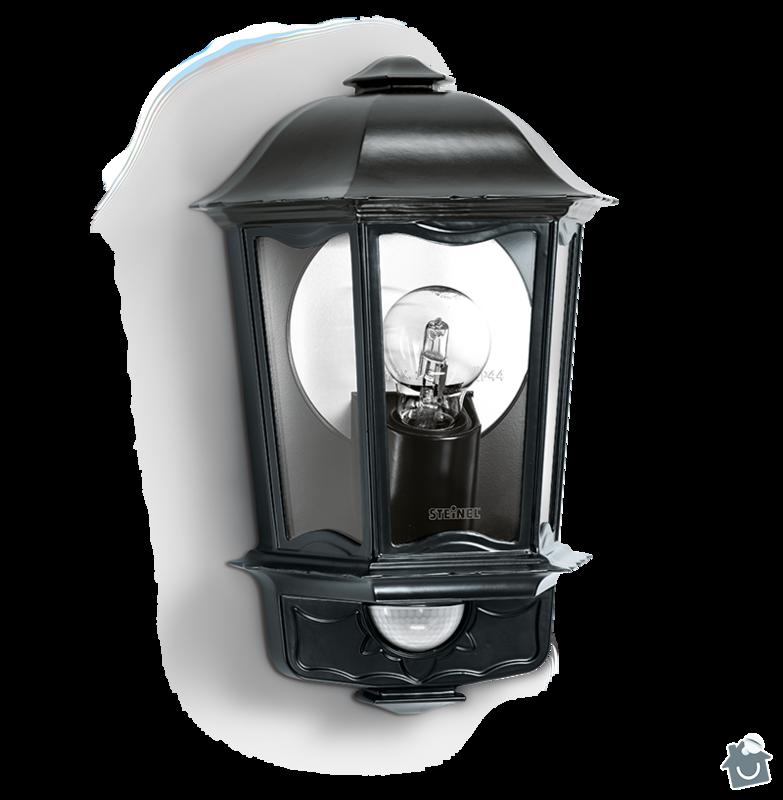 Montáž venkovních světel 3ks STEINEL L 190 S: stw_107890204
