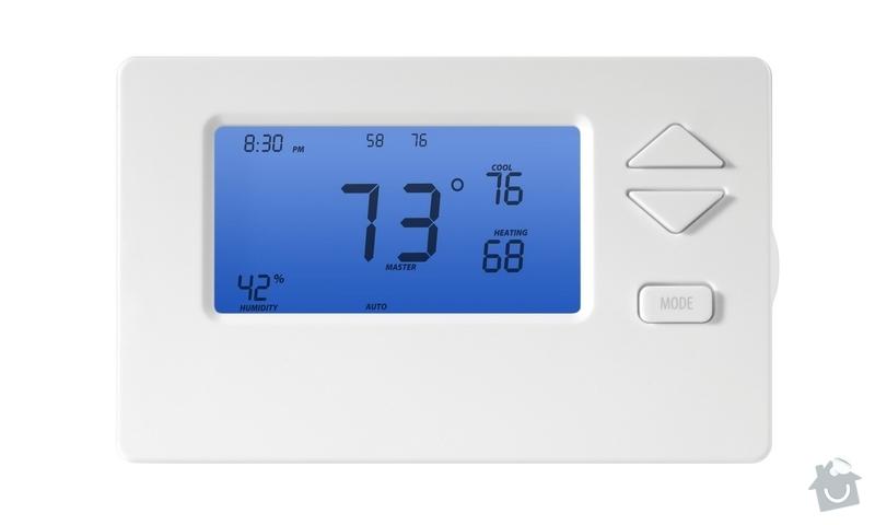 Montáž nového termostatu INSTEON ke kotli VAILLANT : 301_INSTEON_THERMOSTAT_-_celni_pohled