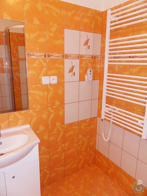 Rekonstrukce koupelny : 548