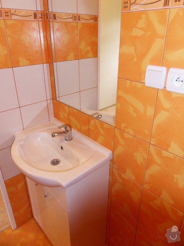 Rekonstrukce koupelny : 549