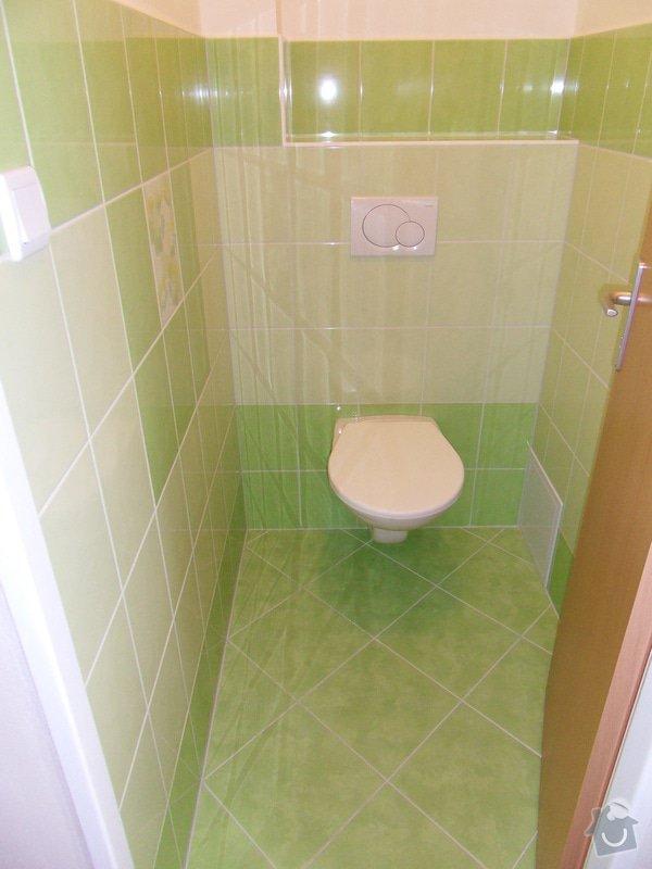 Rekonstrukce koupelny : 536