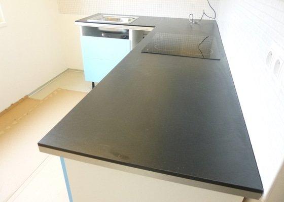 Úprava kuchyňské pracovní desky