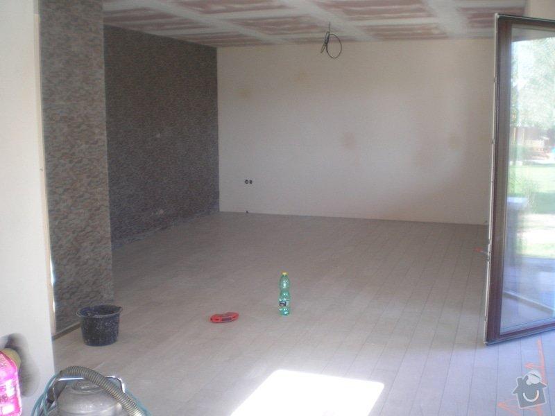Provedení obkladů a dlažeb v novostavbě RD: P6130001