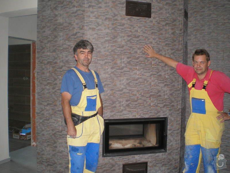 Provedení obkladů a dlažeb v novostavbě RD: P7010080