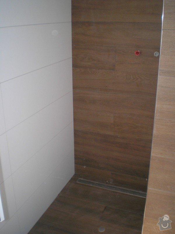 Provedení obkladů a dlažeb v novostavbě RD: P6200032