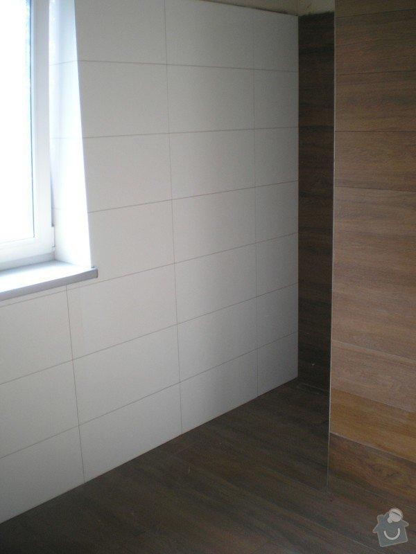 Provedení obkladů a dlažeb v novostavbě RD: P6200035