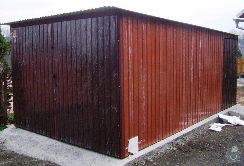 Plechová garáž: SSA40428