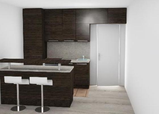 Kuchyň a vestavěnou skřín
