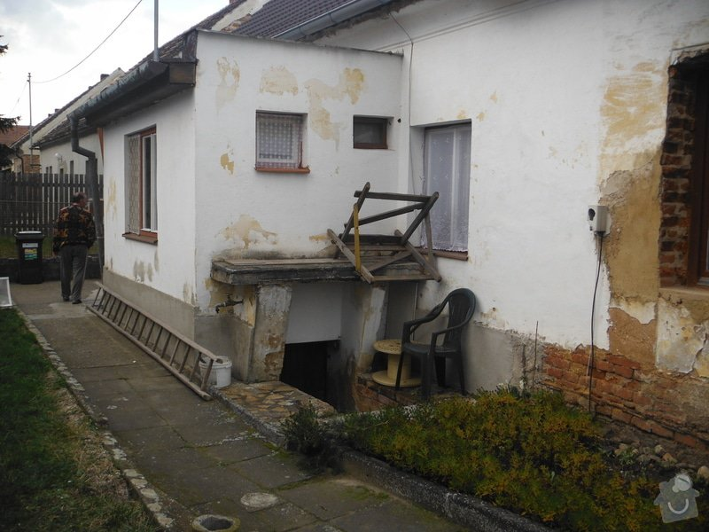 Izolace základů+drenáž : veranda_sklipek