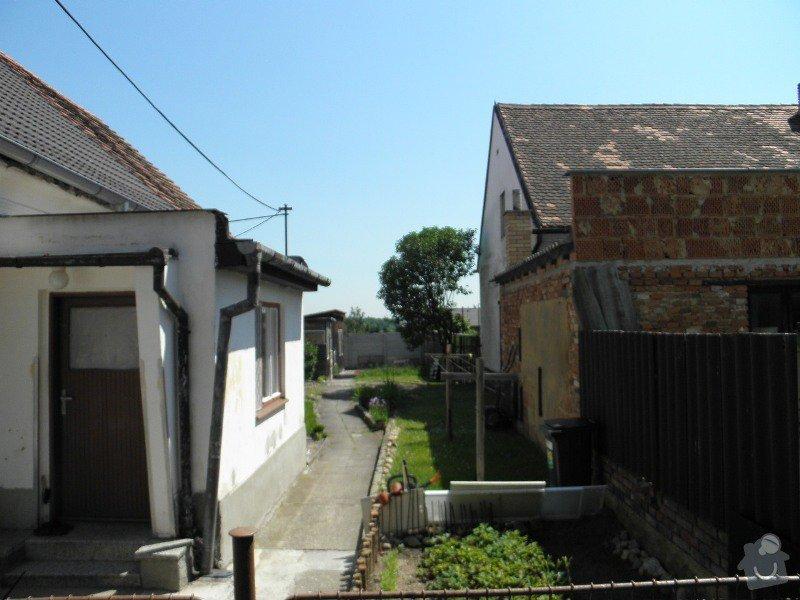 Izolace základů+drenáž : veranda