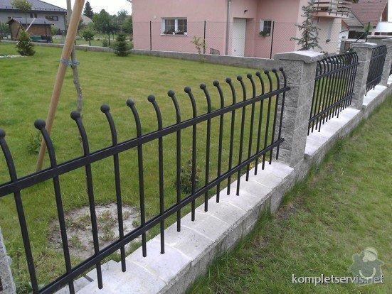 Výroba a montáž oplocení rodinného domu: WP_000274