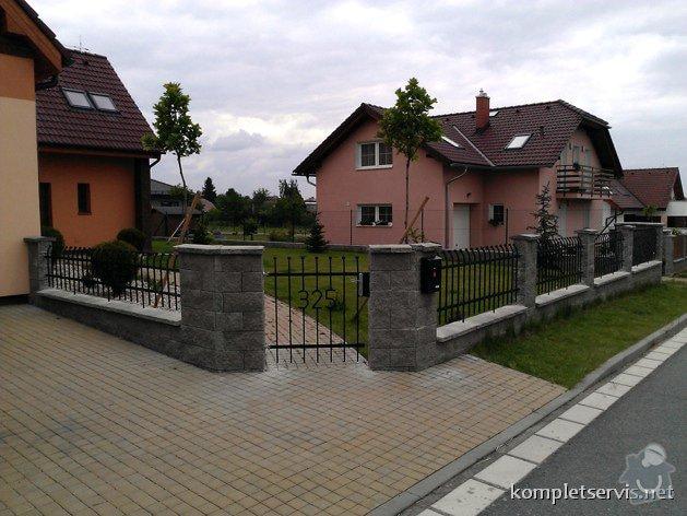 Výroba a montáž oplocení rodinného domu: WP_000270