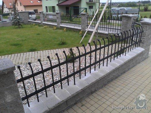 Výroba a montáž oplocení rodinného domu: WP_000301