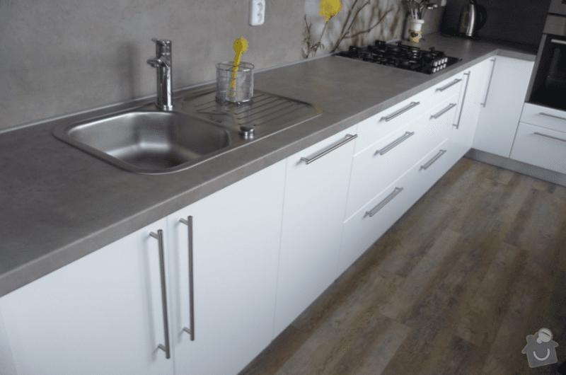 Rekonstrukce kuchyňské linky + zednické práce: bregin