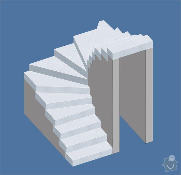 Návrh schodiště: schody