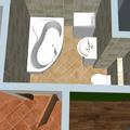 Zmena otevirani 1 dveri vymena sprchoveho koutu za vanu koupelna