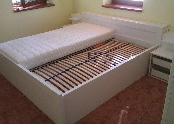 Vestavěná skřín + postelový nábytek