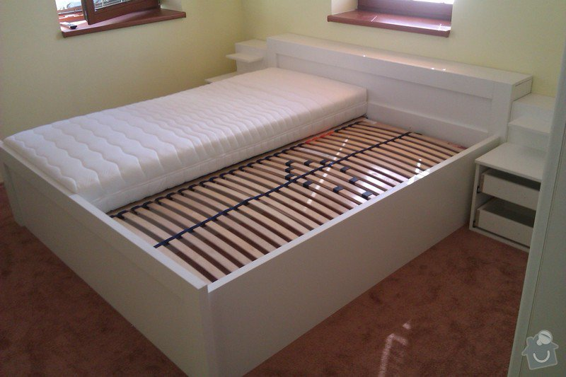 Vestavěná skřín + postelový nábytek: IMAG2142