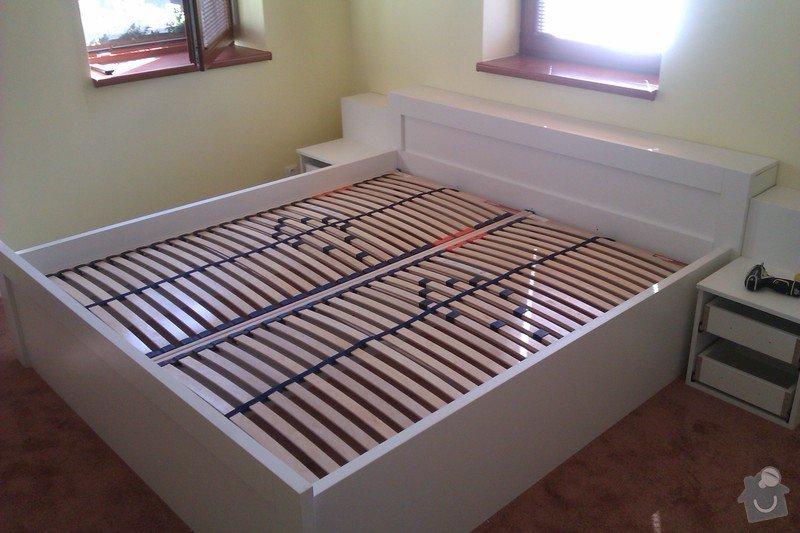 Vestavěná skřín + postelový nábytek: IMAG2141