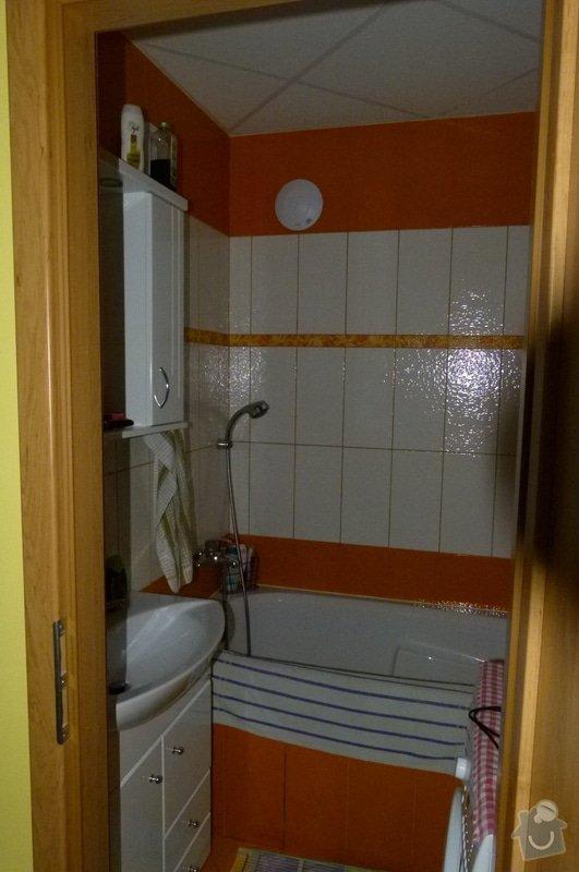 Rekonstrukce byt jádra (koupelna, kuchyň, WC): P1040688