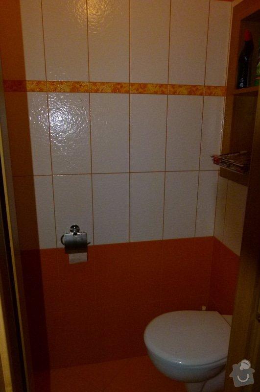 Rekonstrukce byt jádra (koupelna, kuchyň, WC): P1040684