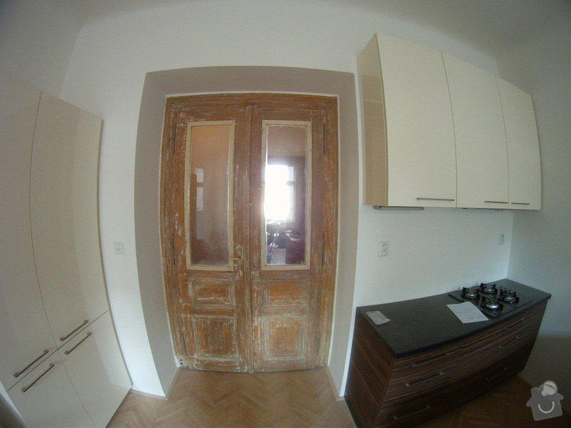 Leptane ci pieskovane sklo do interierovych dveri - secesny motiv: GOPR2282