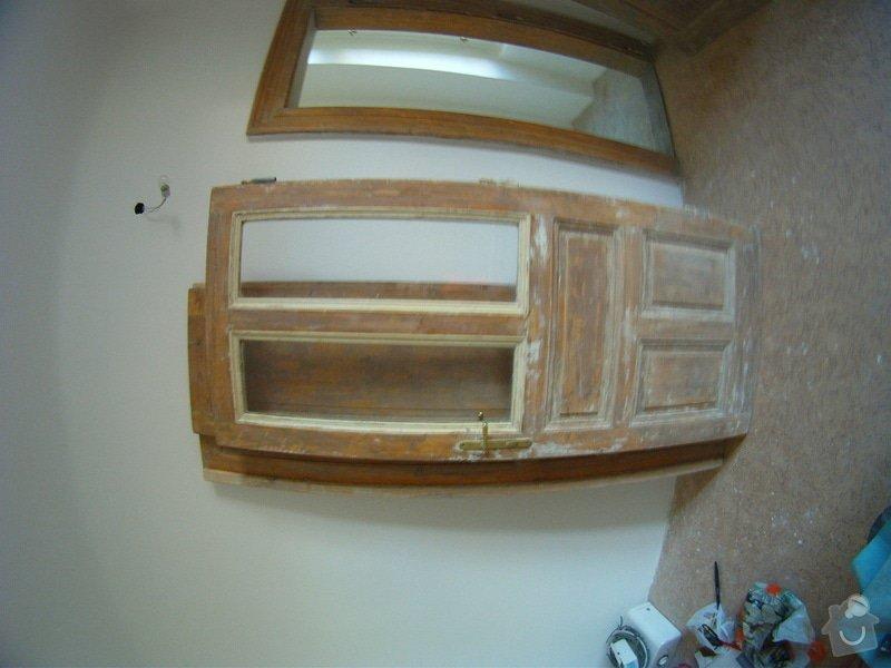 Leptane ci pieskovane sklo do interierovych dveri - secesny motiv: GOPR2285