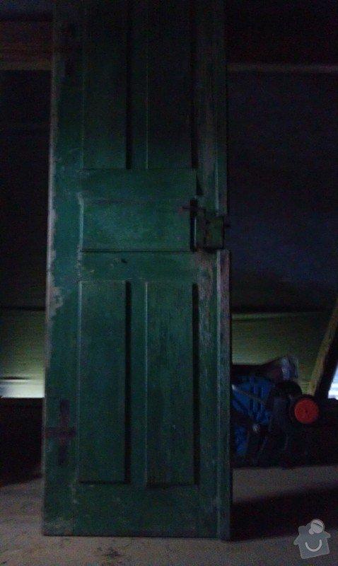 Výrobu venkovních dveří: IMAG0217