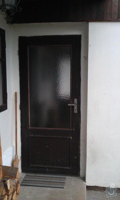 Výrobu venkovních dveří: IMAG0218
