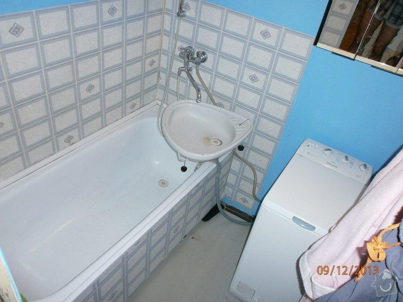 Renovace koupelny bez bourání: PC090021