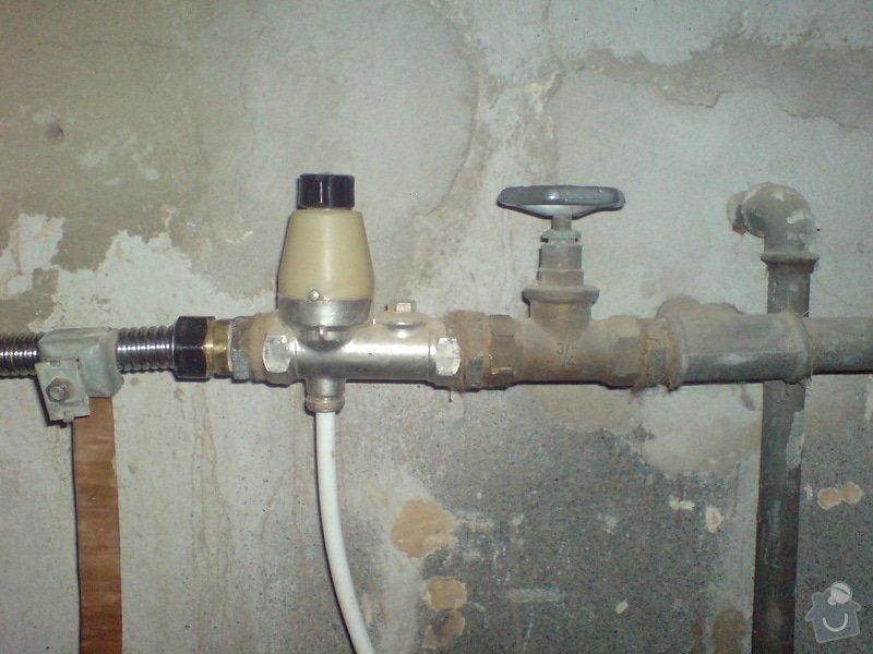 Výměna/oprava pojistného ventilu k bojleru Tatramat EOV 122: myjava