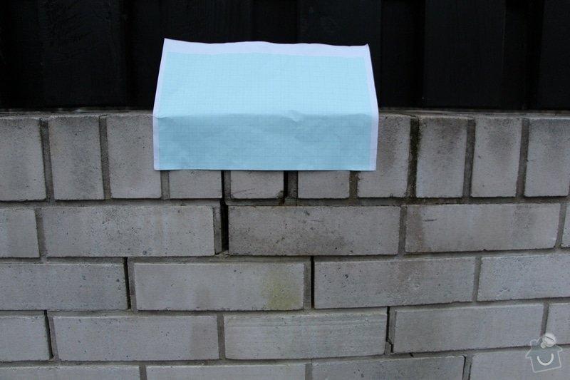 Vyplnění poprskaných spár v cihlové zídce a opěrné zdi: IMG_7477