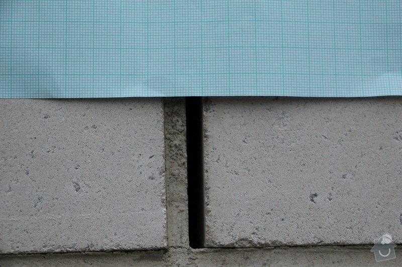 Vyplnění poprskaných spár v cihlové zídce a opěrné zdi: IMG_7454