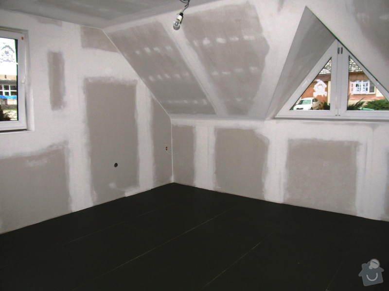 Montáž radiátorů a topných rozvodů do obytného podkroví: IMG_6650