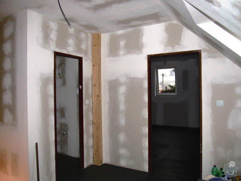 Montáž radiátorů a topných rozvodů do obytného podkroví: IMG_6654
