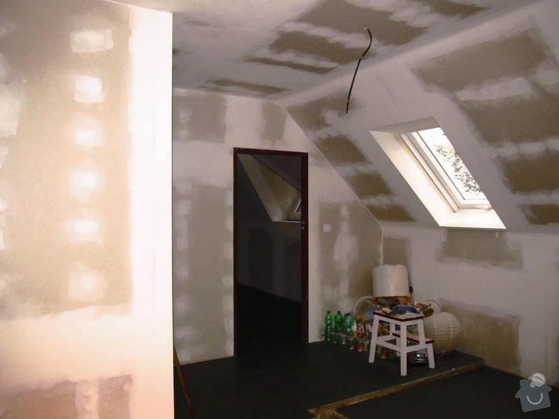 Montáž radiátorů a topných rozvodů do obytného podkroví: IMG_6661