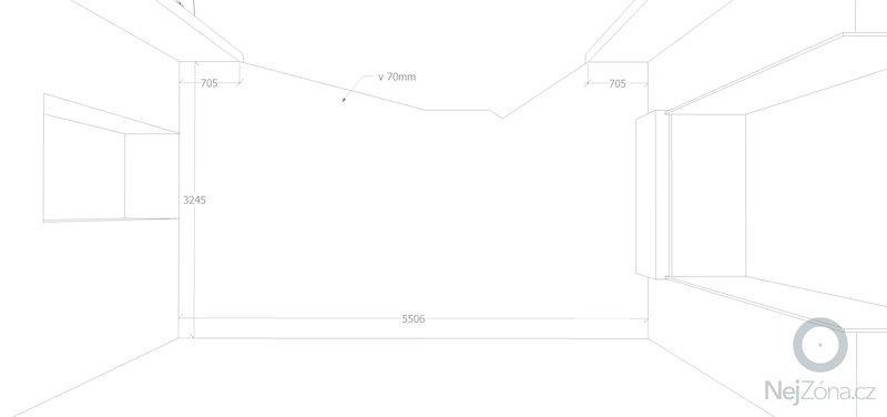 Barový pult a police do obchodu, pokládka laminátové podlahy 18m2: rozmery