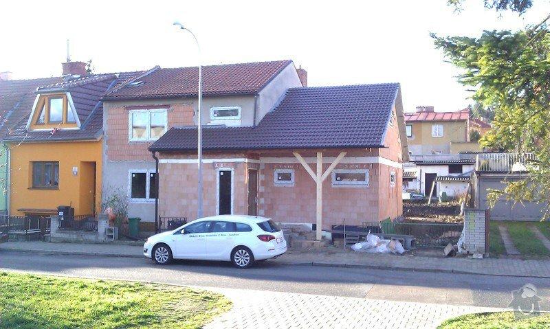 Zateplená fasáda na rekonstruovaný RD cca 180m2, Brno: IMAG1292