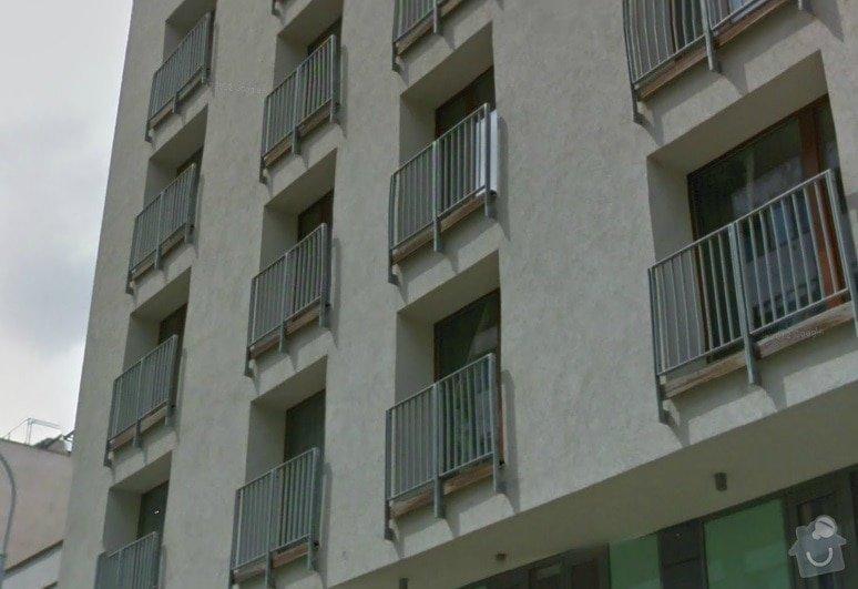 Dodávka a instalace ochranné sítě pro kočku: balkon