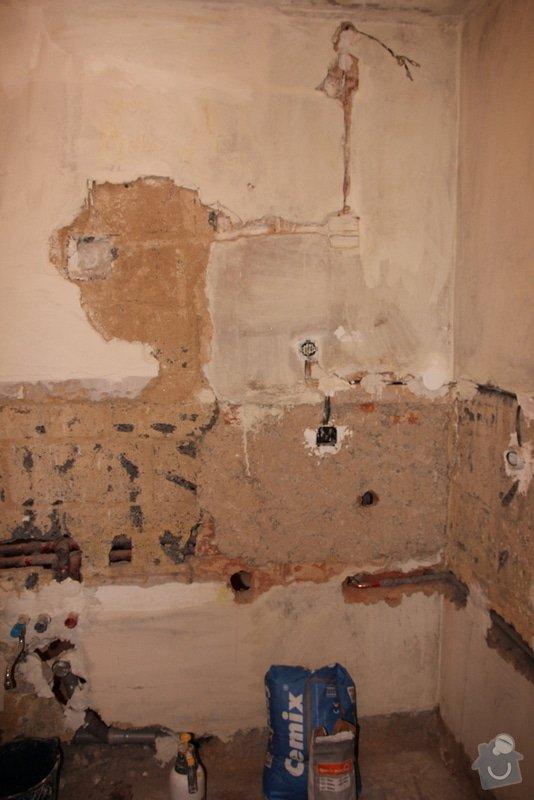 Štukování, zapravení zdí: 2-IMG_3087