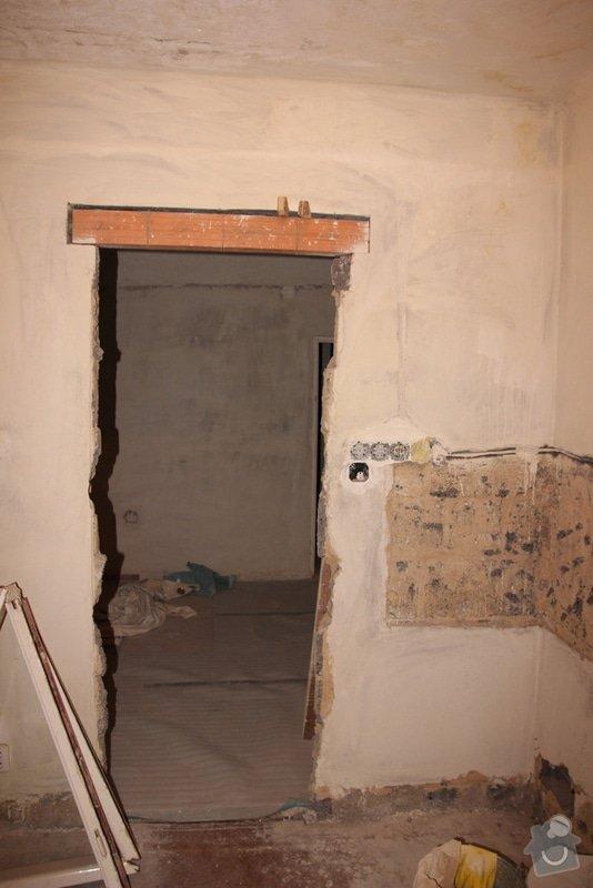 Štukování, zapravení zdí: 3-IMG_3091