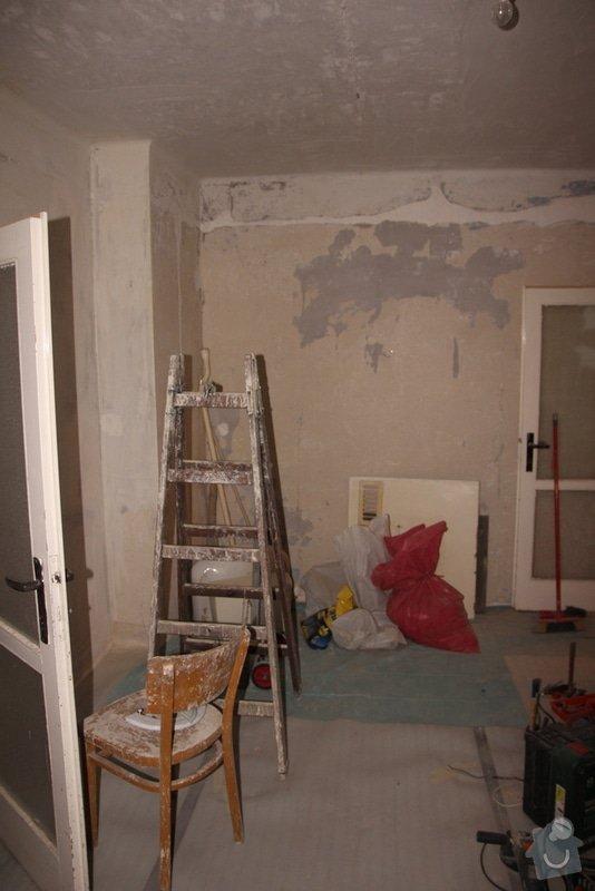 Štukování, zapravení zdí: 4-IMG_3094