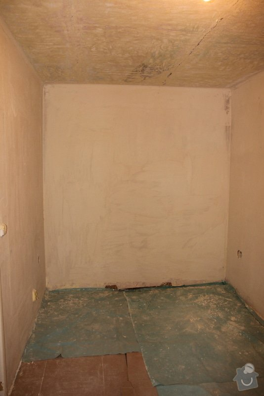 Štukování, zapravení zdí: 5-IMG_3098