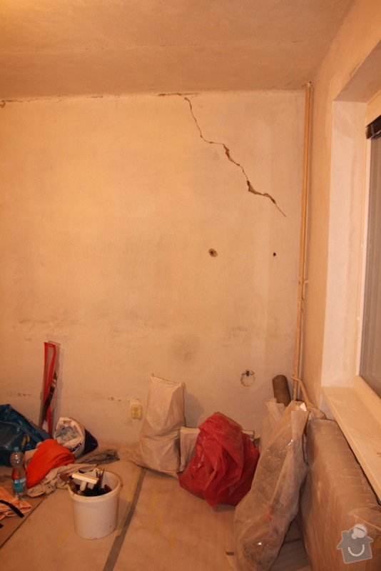 Štukování, zapravení zdí: 6-IMG_3101