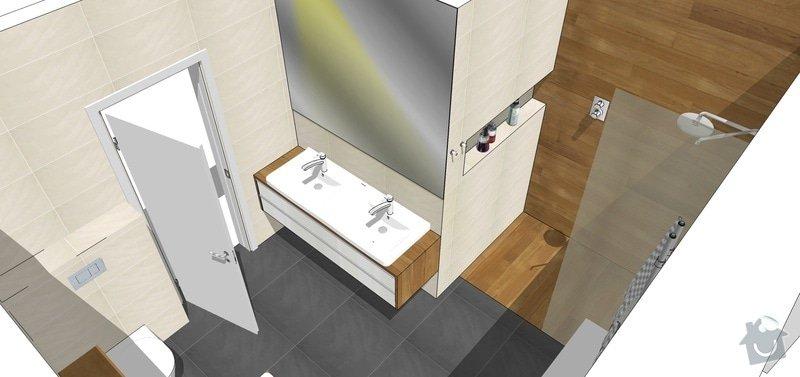 Vizualizace, návrhy, dispozice RD: koupelna4_a