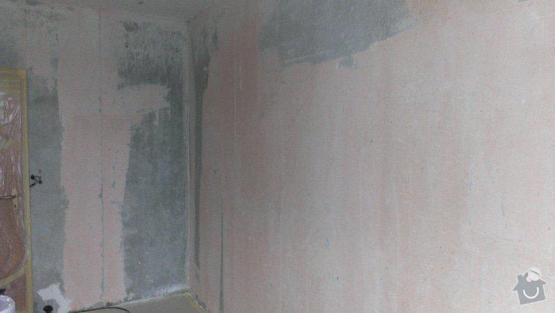 Štukování - 1 pokoj v panelovém domě: IMAG0617