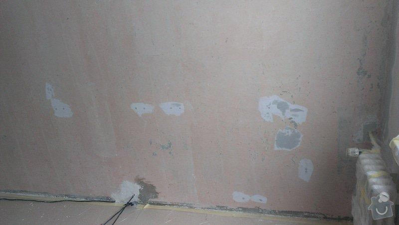 Štukování - 1 pokoj v panelovém domě: IMAG0620