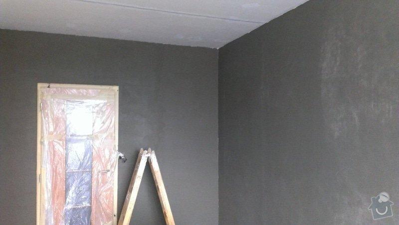 Štukování - 1 pokoj v panelovém domě: IMAG0621