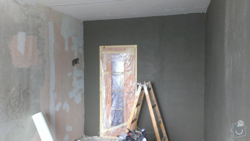 Štukování - 1 pokoj v panelovém domě: IMAG0622